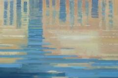 Canal Grande, 80/80 cm, olieverf op doek