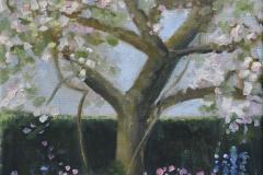 Voorjaar 2, 40/30 cm, olieverf op doek