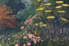 Summergarden, 40/30 cm, olieverf op doek