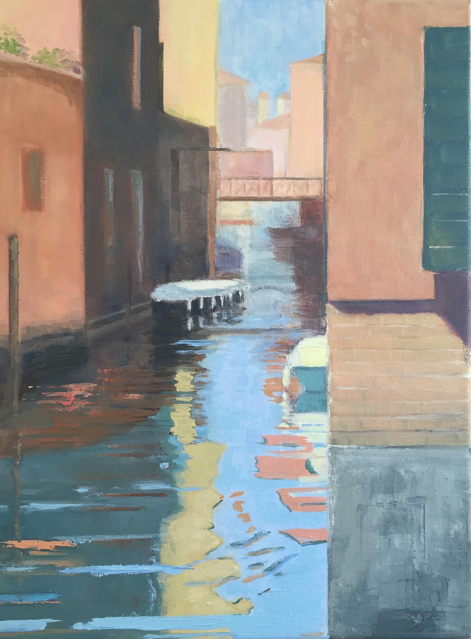 Venetië, 40/30 cm, olieverf op doek