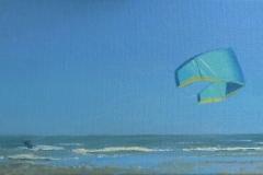 Kite, 20/40 cm, olieverf op doek, verkocht