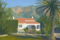 La Casa; 30/40 cm; olieverf op paneel