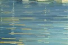 De Haven van Xabia, 40/30 cm, olieverf op doek
